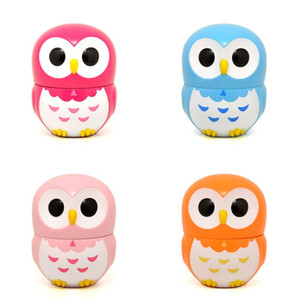 Lovely Plastic Alarm Clock 60 Minute Mechanical Timers Dibujos animados Owl Forma Kitchen Timer Multi Color 6 66yy C R