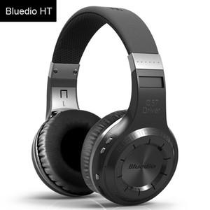 Yeni 2018 Bluedio HT Kablosuz Bluetooth Kulaklıklar Kablosuz Kulaklık Cep Telefonu Müzik Kulaklık Için Mikrofon Ile