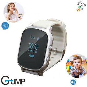 Precise GPS Crianças velho relógio inteligente T58 suporte GPS WIFI SOS LBS Localize Localizador de chamadas de emergência GPS smartwatch T58 para presente da criança