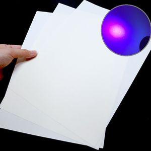 Bond / billete de papel CottonLinen 75gsm Con UV fibra Tamaño A4 Color Blanco almidón libre sin ácido