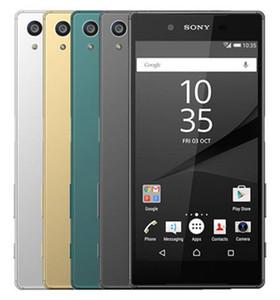 Восстановленного Оригинального Sony Xperia Z5 E6653 E6683 разблокирована сотовый телефон окт Ядро 3GB / 32GB 5.2inch 23MP 4G LTE