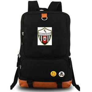 Ascoli Calcio 1898 FC amblem Sırt çantası Futbol kulübün okul çantası Futbol takım sırt çantası Tuval okul çantası Açık gün paketi sırt çantası