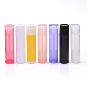 5g 5 ml Vazio Batom Tubo Lip Balm Containers Recipientes Cosméticos Vazios Loção Recipiente Cola Vara Garrafa de Viagem Clara