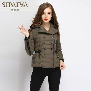 SIPAIYA Frauen Winter Jacken und Mäntel 2017 Neue Jacke Frauen Mode Mantel Baumwolle Parkas Hohe Qualität Outwear Parkas