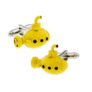Free Shipping New French Cuff Links Quality Brass Material Submarine Men Cufflinks