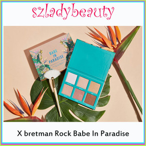 2019 Lamer X Bretman Rock Babe in Paradise Highlight Eyeshadow Foundation Concealer Shadow Palette Best Becca vs white peach Eyeshadow