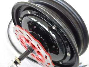 10inch 48V60V / 72V 1000W BLDC elektrischer Roller Nabenmotor / starkes elektrisches Motorrad ersetzen Motor / DIY E-Roller Motor
