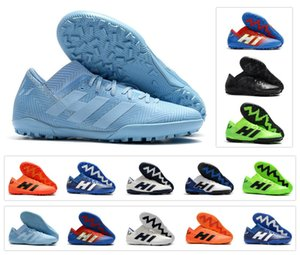 Neue Ankunft Nemeziz Messi Tango 18,3 TF IC Turf Cleats Hohe Knöchel 18 Herren Fußballschuhe Fußballschuhe Cleats Größe