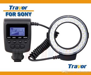 MACRO LED RING FLASH RF-550E For SONY Cameras A37, A57, A65 and 18-55mm Lens