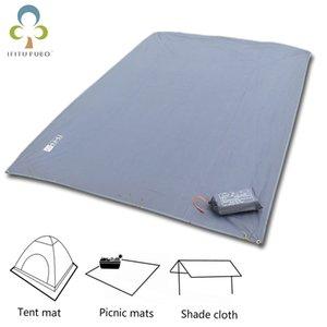 Oxford Tent Floor Saver Telo multifunzione rinforzato Tenda da campeggio per picnic in spiaggia Impermeabile Tarpaulin Bay GYH