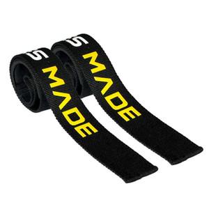 Poids de levage main sangle de support de ceinture courroie de soutien bande de gymnastique Bretelles poids de levage handwraps Body Building Grip Gant 1 paire