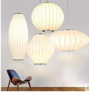 Modern s Chinese style lanterns personalized creative ball flying saucer silk lamp clothing store pendant ya73118