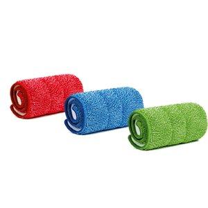 Beiyi 3 UNIDS / set Fiber Spray Mop Head Floor paño de limpieza Pasta El trapeador para reemplazar el paño de limpieza del hogar Mop Accessories