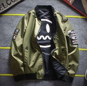 Escudo de hombre engrosamiento chaqueta de vuelo amantes béisbol ropa de algodón invierno primavera chaqueta talla M-4XL