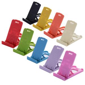 휴대 전화 스마트 폰 태블릿 지원 전화 홀더 자유로운 선박 보편적 인 접이식 테이블 휴대 전화 지원 플라스틱 홀더 데스크탑 스탠드