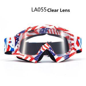 Motocross profesional para adultos Gafas de competir con de camino Oculos luneta Mx anteojos de la motocicleta de los anteojos del deporte de esquí de los vidrios