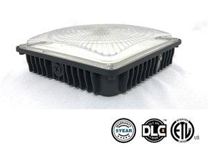 UL DLC Aprovado 45W LED 70W Canopy Light Factory Industrial levou alta Bay Luz Station Gas Lamp Estacionamento Garagem Armazém Lâmpadas AC 100-277V