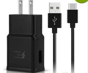 DHL доставка горячего OEM для Samsung Galaxy S7 S8 S8 Plus Примечание 8 S9 Адаптивных Быстрой зарядка зарядного устройства адаптера OEM США USB Type C кабель