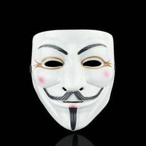 1 PCS 8 Style Partie Masques V pour Vendetta Masque Anonyme Guy Fawkes Fantaisie Adulte Costume Accessoire Partie Cosplay Halloween Masques