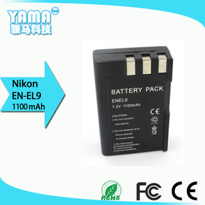 Lithium Rechargeable Battery Digital Camera Battery for Nikon En-EL9 EL9A Nikon D3000 D40 D40x D5000 D60