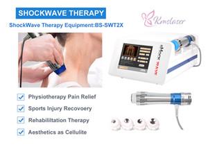 fisioterapia portátil onda de choque de volta aliviam a dor onda de choque / onda de choque radial Eletromagneticamente para tratamento ED