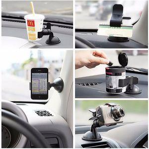 2017 Evrensel 360 ° Araba OTOMATIK Dashboard AKSESUARLAR Dönen Cep Telefonu Cam Montaj GPS Tutucu Ücretsiz Shippping