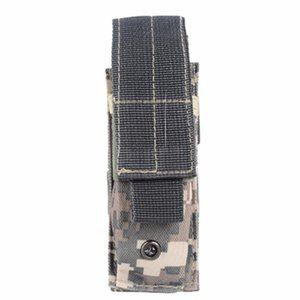 600D Outdoor Tactical Open Top Single Mag Bag Magazine Holster Pouch with Belt Clip