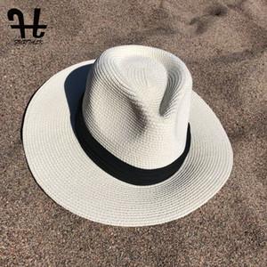 FURTALK Envío de la gota 2018 Sombrero del sol del verano Sombreros del sol para las mujeres Sombrero de paja para las muchachas Sombrero de las mujeres de Panamá SH040 S18101708