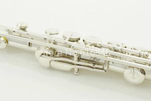 Nueva PEARL PF-665E flauta 16 hoyos cerrado cuproníquel plateado de alta calidad para instrumentos musicales de la flauta C Tune con el caso de los accesorios y
