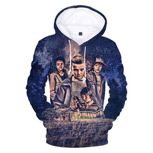 New Strange Things 3D Print Hoodie Hot Drama Hombres / Damas 2018 Nueva Casual Sudadera Hip Hop Style Clothes Q0196-Q0440