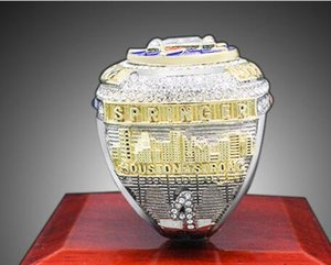 Новый чемпионат серии ювелирных изделий 2018 2019 Хьюстон Чемпионат мира по бейсболу кольцо Altuve Springer вентилятор подарок Оптовая продажа обычай