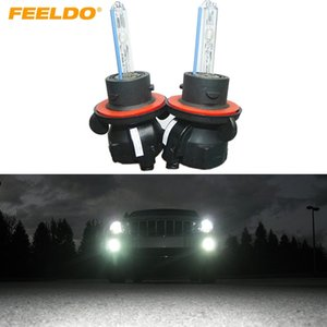 FEELDO 2x 35w ксеноновые фары автомобиля лампа H13/9008 Hi/Lo Bi-Xenon замена AC HID лампы #2118