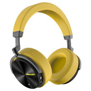 Bluedio T5 antibruit actif Bluetooth casque sans fil casque avec microphone pour téléphones et musique