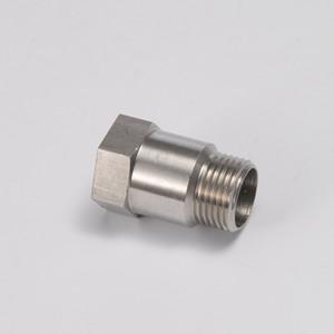 EPMAN- Extractor de automóviles Sensor de oxígeno O2 Extensor de extensión Extensor de tubo Adaptador Espaciador M18 X 1.5 Bung Thread 304 Acero inoxidable EP-CGQ52