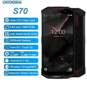 """Doogee S70 Грубая игра мобильный телефон IP68 водонепроницаемый 5500mAh 6GB + 64GB 5,99"""" 18: 9 окта Ядро Android 8.1 Беспроводная плата Smartphone"""