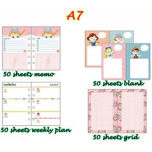 A6 A7 Pocket Planner Escola Material Escolar Notebook Escola Suprimentos Livro Escolar Caderno Agenda Diário Pessoal