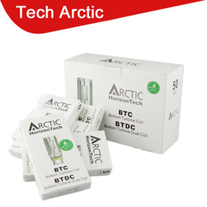 Fast shipping Horizon Tech Arctic atomizer Sub ohm BTC Coil and BTDC coil 0.2 0.5 1.2ohm coils for arctic atomizers tanks Quality 02020351-2