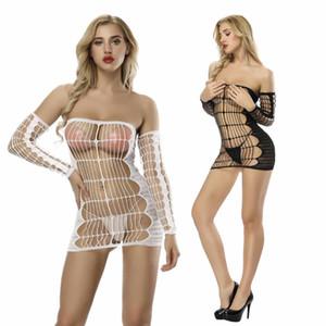 Europa und die Vereinigten Staaten sexy Unterwäsche explosive Slingnetze Socken Siamese Rock sexy Unterwäsche Netzbekleidung