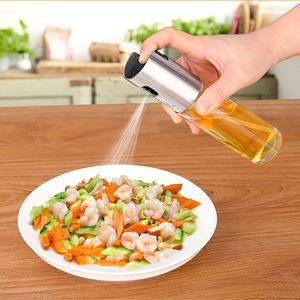 Olio spruzzatore Per Cucinare acciaio inox e vetro bottiglia di olio dispenser per utensili da cucina / Frittura insalata / cottura WX9-561