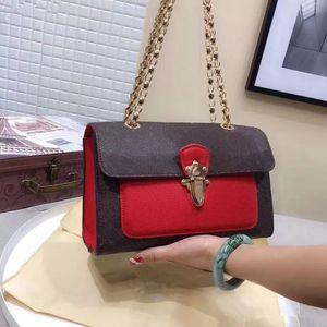 свободный корабль девушка Crossbody цепи сумка высокое качество Посланник Eveing платье сумка кошелек женщины сумка 25 см