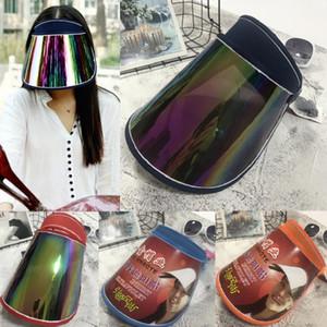 Viseiras por atacado do tampão para a placa colorida UV do chapéu do PC do sol da luz do anti tampão do carro para montar as viseiras de Sun