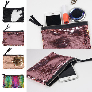 Coofit 2018 New Arrival Sequins Clutch Bag Womens Fashion Zipper Fashion Women Handbag Solid Color Clutch Bag