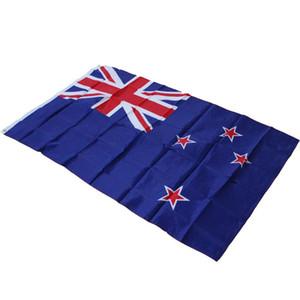 شنق راية 90 * 150 سنتيمتر 3 * 5ft نيوزيلندا العلم الوطني العملي الصغيرة إمدادات كأس العالم ضوء رواية 6qtc cc
