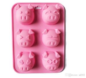 6 Piezas molde de pastel de silicona pastel de arroz modelo de pastel de arroz pasteles cocidos moldes hechos a mano modelos de jabón utensilios de cocina prácticos 5 5xg ii