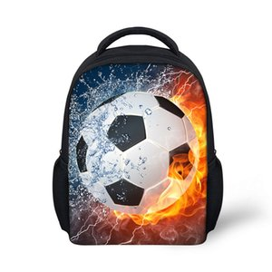 Kids Backpacks 축구 인쇄 유치원 학교 가방 소년 용 Girls foot ball Schoolbag 학생 Bookbags Children Mini