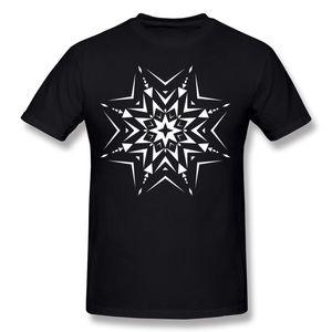 Cheap Mens Pure cotton Paper Cut Snowflake T Shirts Mens Crew Neck Purple Tees Short Sleeve Big Size Summer T Shirts