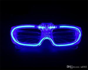 Party Prop Taschenlampe Gläser LED Kaltlicht Mode Brillen Multi Farbe Heiraten Weihnachtsdekoration Bar Prop 1 99 mw WW