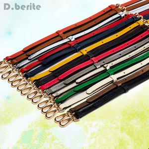 Echtes Leder Ersatz Schulter Crossbody Strap Bag Handtaschen Geldbeutel Hohe Qualität Einstellbare Zubehör LNY9122