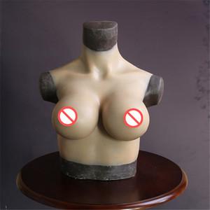 BCDEG كأس كروسدرسر أشكال الثدي واقعية الاصطناعي سيليكون وهمية الثدي للحالان جنسيا خنثيف سحب الملكة التخلي الأحادي الثدي تعزيز