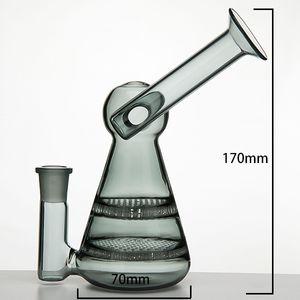 14mm weibliche Form seltsam Glaswasserpfeife Glas Banger Hanger Nail Glas Bongs Dab Rigs Bohrinsel Becher mit gelegentlicher Farbe